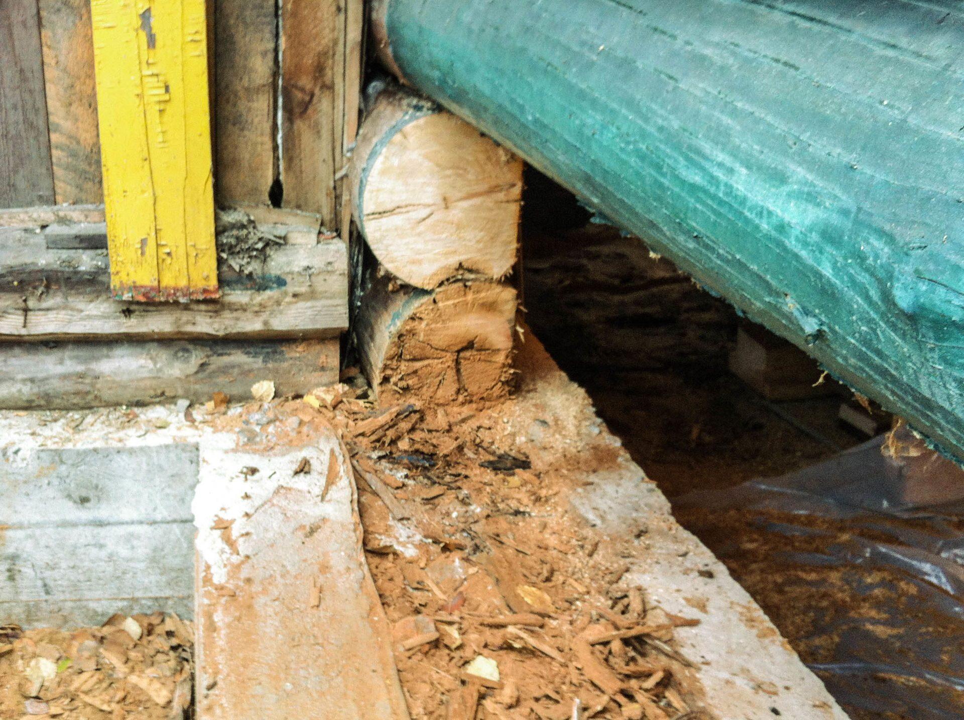 Ремонт нижних венцов деревянного дома своими руками 69